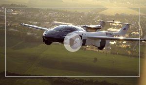 پرواز آزمایشی اولین خودروی پرنده در اسلواکی