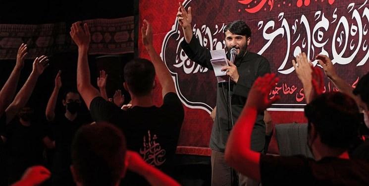 درددل ابوذر بیوکافی با امام حسین در یک نوحه+فیلم