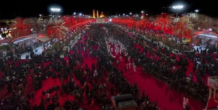 غوغای شب تاسوعا در کربلا+ عکس و فیلم