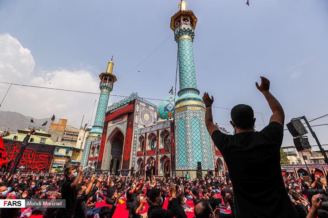 مراسم روز تاسوعا امامزاده صالح(ع)